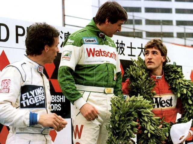 Donnelly, Schneider, Lammers - F3 Podium Macau