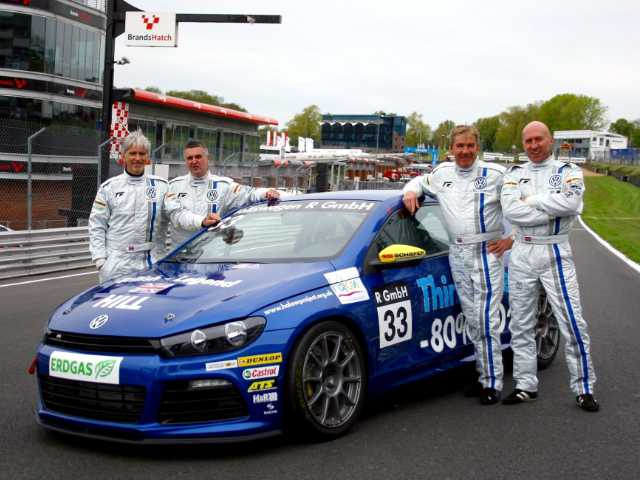 McCarthy, Bailey, Donnelly, Hill - VW Scirocco 2020 at Brands Hatch